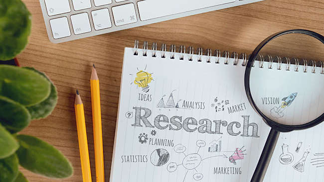 When you're starting a business, doing your market research is vital!