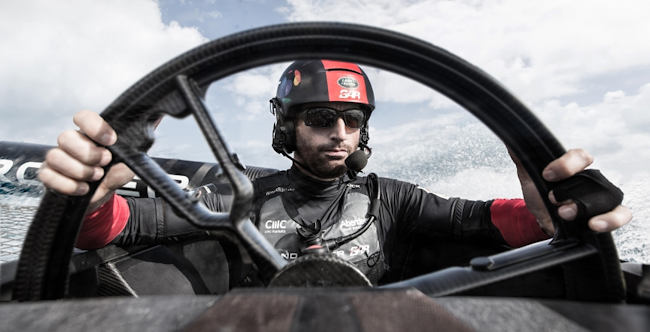It's the 35th America's Cup this summer and Land Rover have been working with Sir Ben Ainslie!