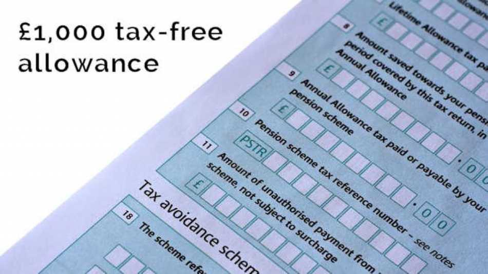 Did you know that there's a £1,000 tax allowance available to you?