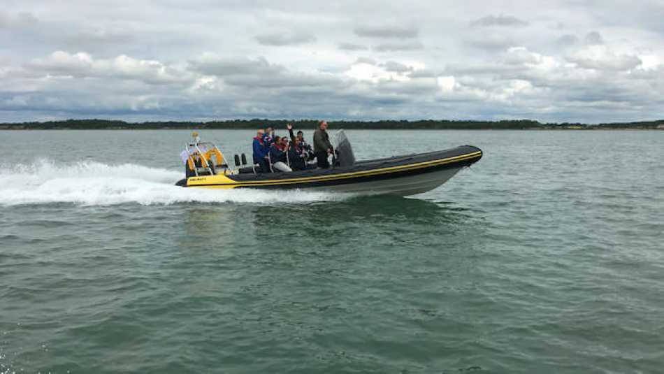 We had a fantastic time on the Solent during our treasure hunt!